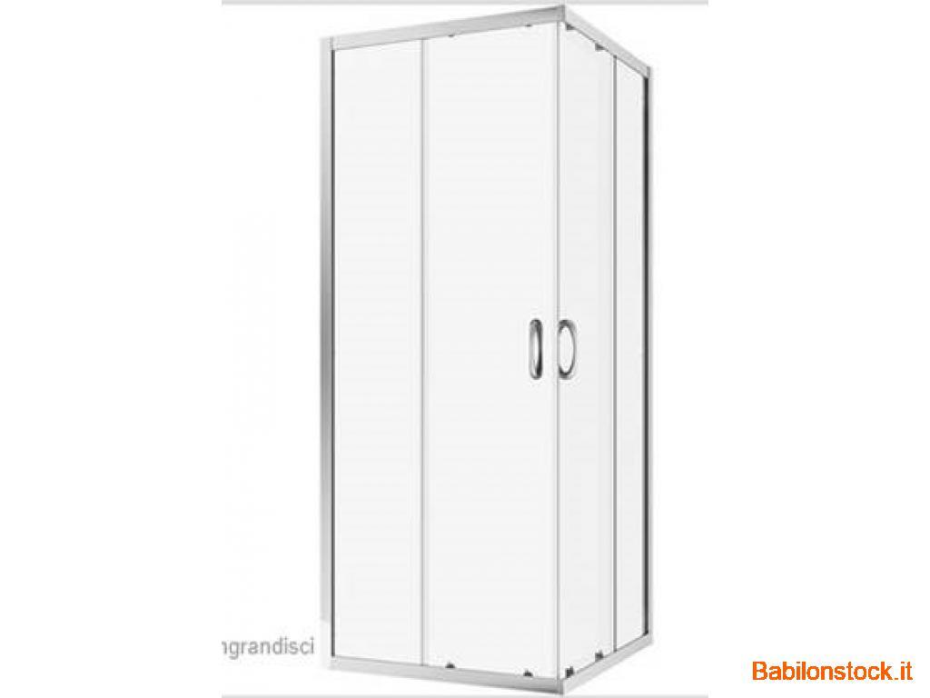 Box doccia 90x70 4mm stock 400 unità, acquisto minimo 70 pezzi
