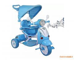 Stock di 50 Triciclo Passeggino Scooter Vespa