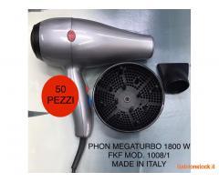 Stock 50 phon megaturbo 1800 w con 2 bocchette e diffusore