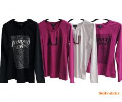 stock t-shirt firmato ARMANI JEANS