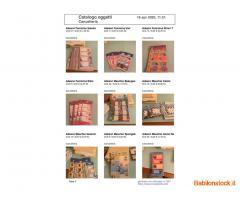 stock materiale cancelleria