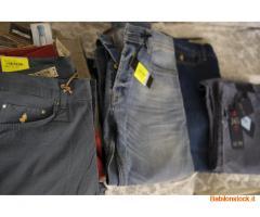 Stock Jean firmati camice uomo e misto donna
