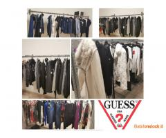 Stock abbigliamento uomo e donna firmato GUESS